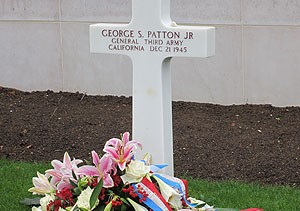 General George S Patton Grave