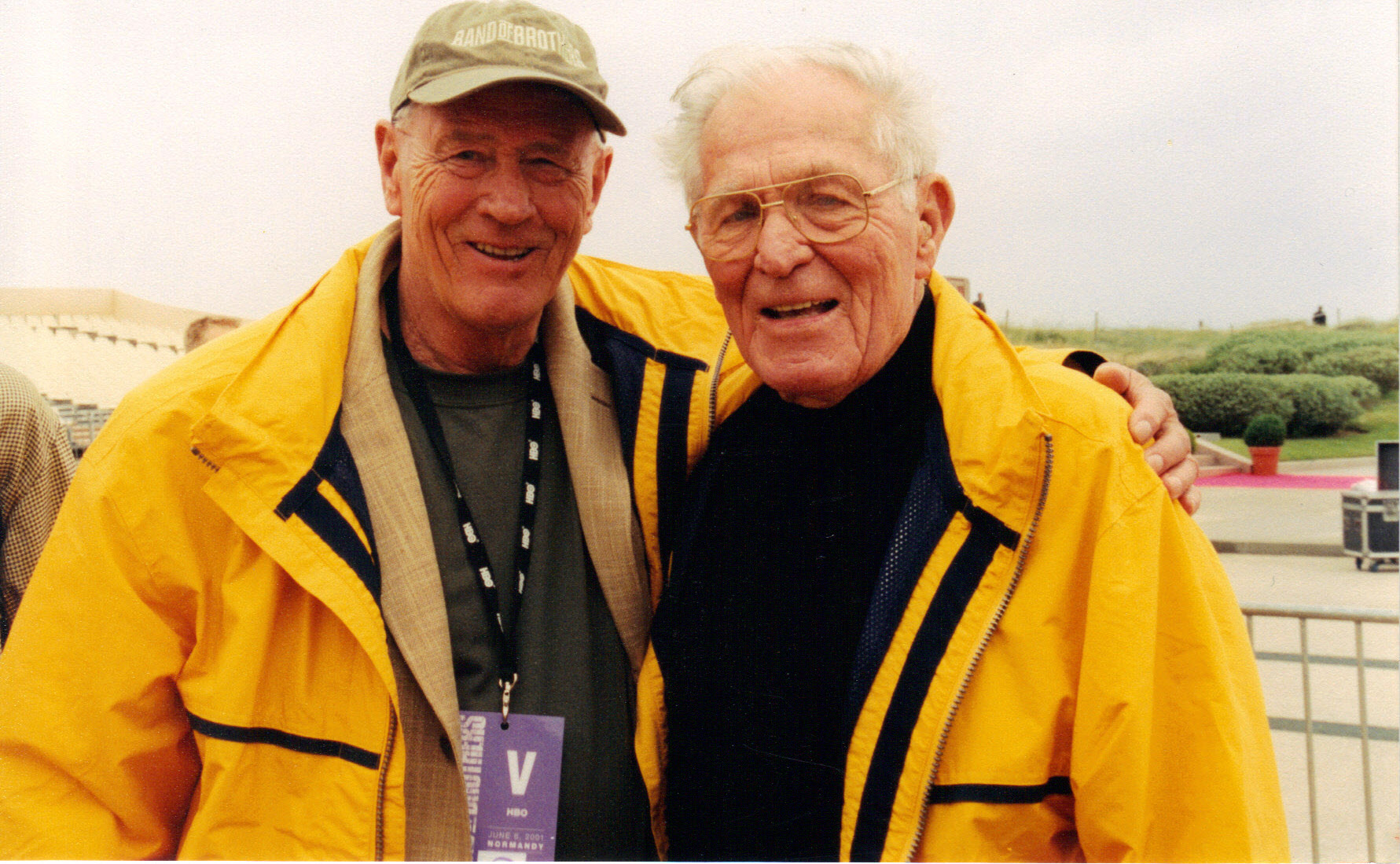 Stephen Ambrose and Dick Winters